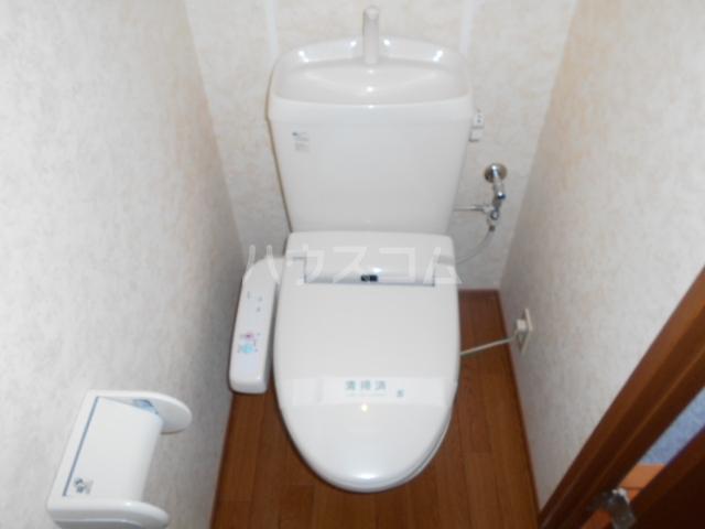 ヴィラ相生B 201号室のトイレ