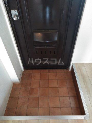 OMレジデンス本庄 407号室の玄関