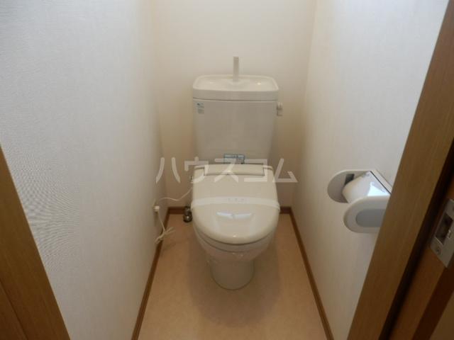 光コーポ 201号室のトイレ
