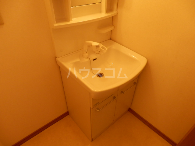 光コーポ 201号室の洗面所