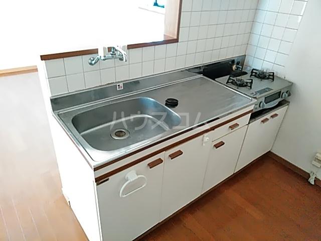 セゾンマツシマⅡ 202号室のキッチン