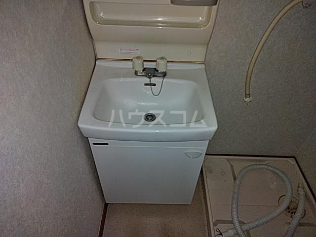 セゾンマツシマⅡ 202号室の洗面所