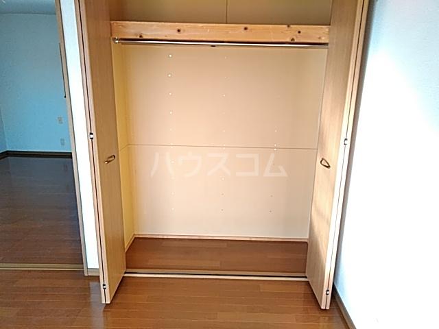 セゾンマツシマⅡ 202号室の収納