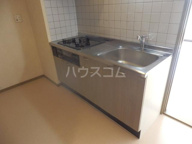 セイラBOX上並榎D 201号室のキッチン