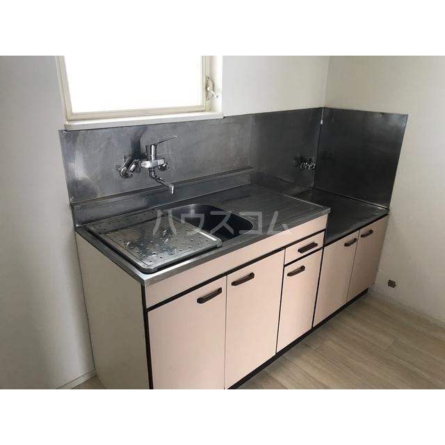 チェリーヒル 2-D号室のキッチン