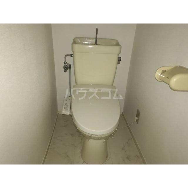チェリーヒル 2-D号室のトイレ