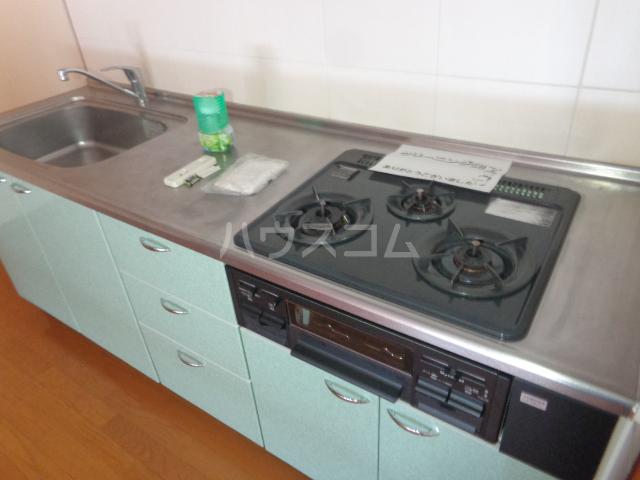 ピアビル 3-D号室のキッチン