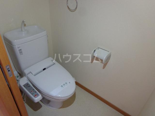 ピアビル 3-D号室のトイレ