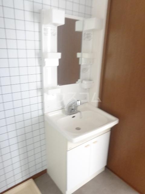 おざわハイツ 203号室の洗面所