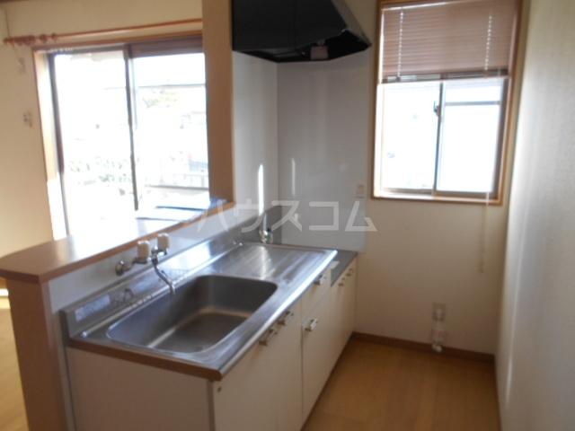 ラジュニールⅢ 202号室のキッチン