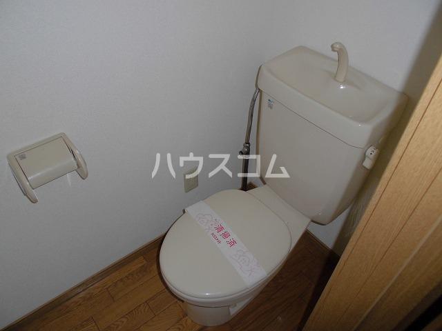 レシェンテ・M 202号室のトイレ