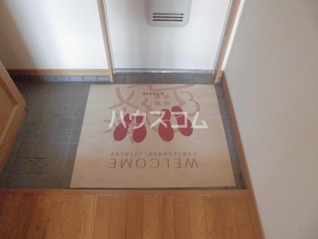 レシェンテ・M 202号室の玄関