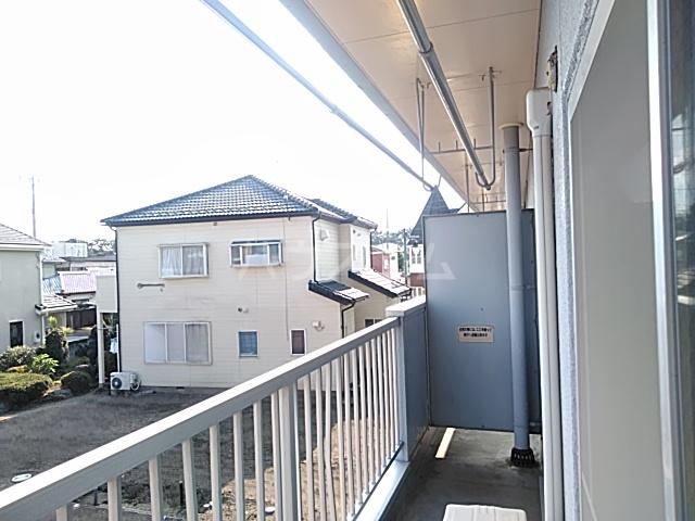 いづみマンション 205号室のバルコニー