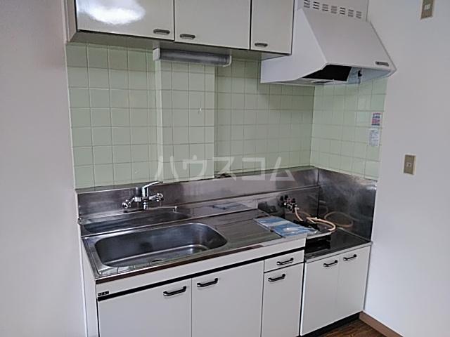 いづみマンション 205号室のキッチン