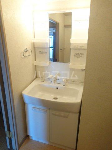 シャトレM 602号室の洗面所