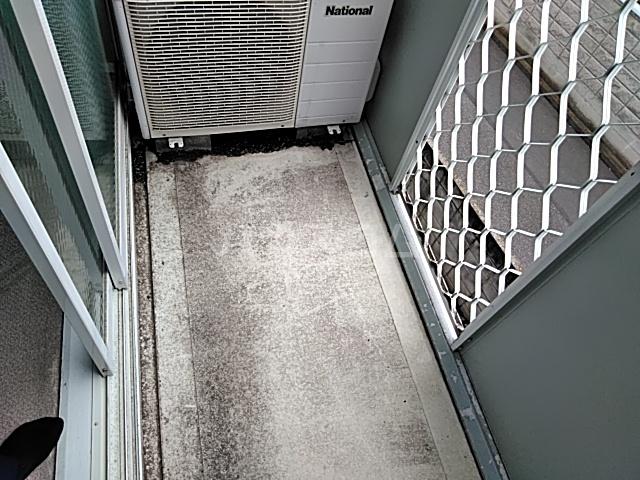 井野レジデンス 101号室のバルコニー
