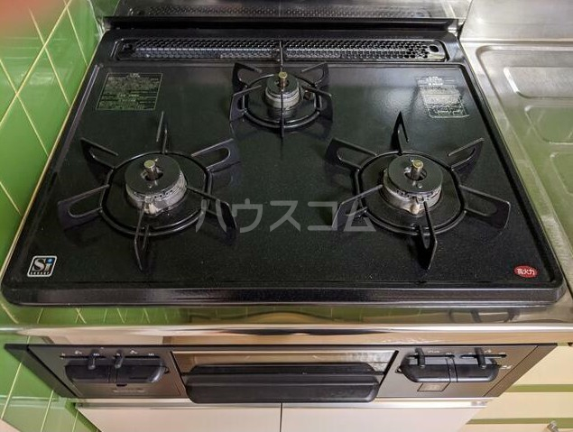 シャトレー笹塚 215号室のキッチン