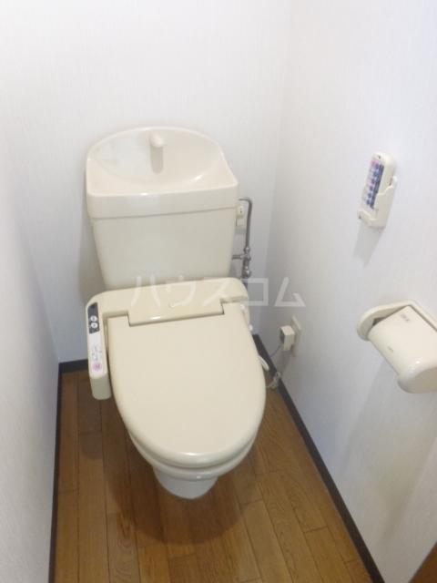 レジデンスカープ前橋 205号室のトイレ