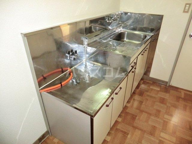 ヴィラ上中居 201号室のキッチン
