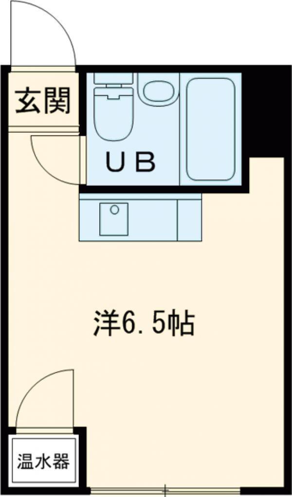 パールハイツ笹塚 408号室の間取り