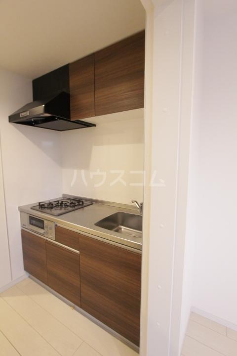 ル ロジュマン 201号室のキッチン