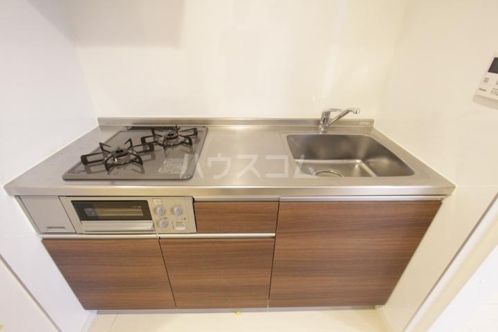 ル ロジュマン 301号室のキッチン