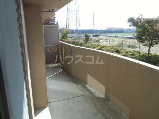 サンコート21ANJO 204号室のバルコニー