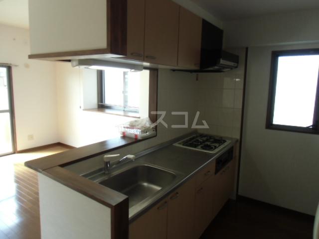 サンコート21ANJO 204号室のキッチン
