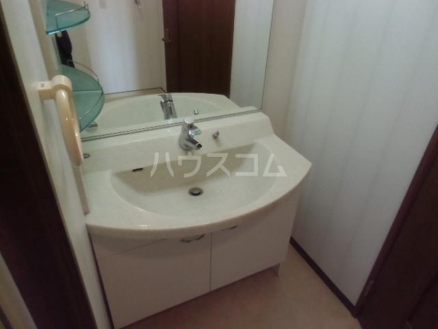 サンコート21ANJO 204号室の洗面所