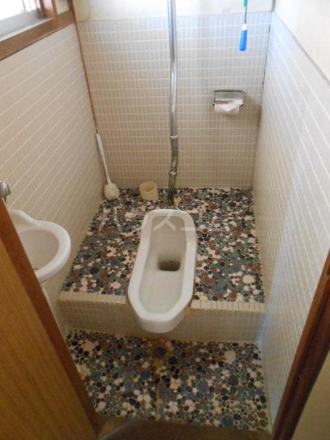 上中荘 3号室のトイレ