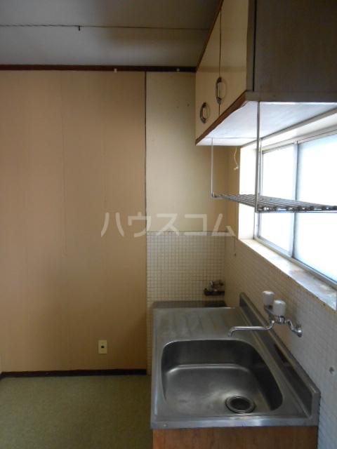 上中荘 3号室の洗面所