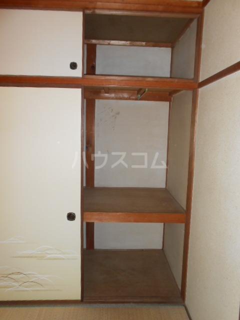 上中荘 3号室の収納