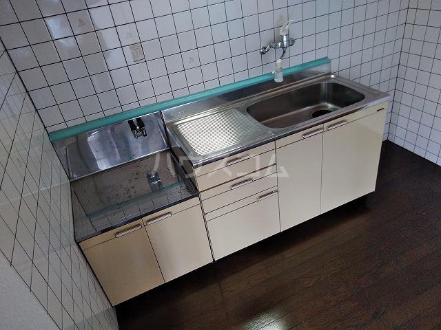 シャトーグローリー 202号室のキッチン