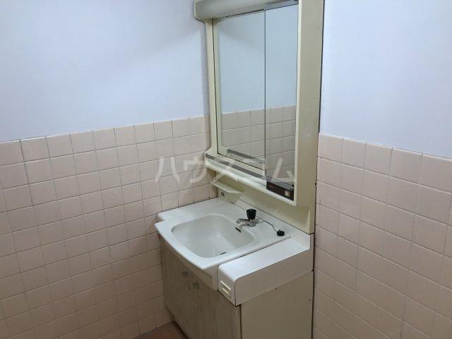 第2丸源ビル 601号室の洗面所