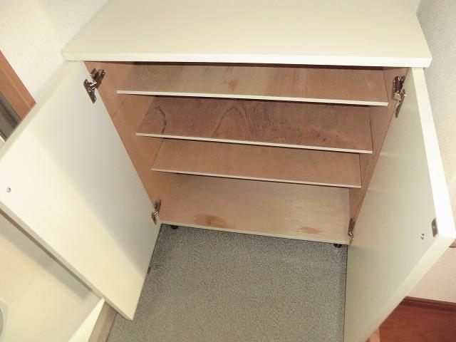 キャロットK 2F号室の収納