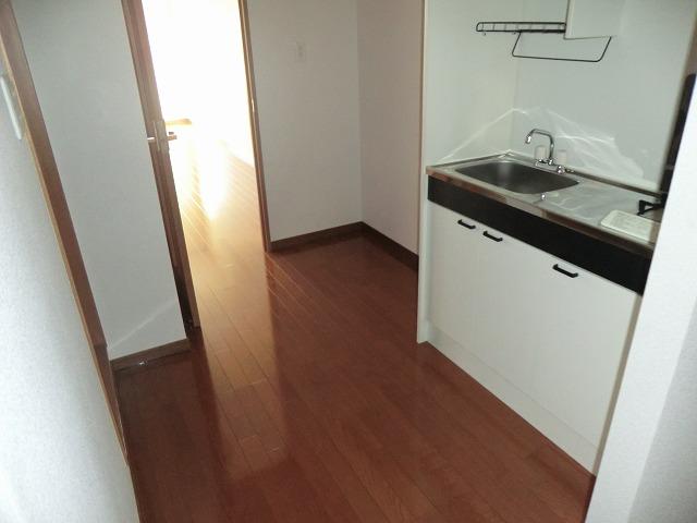 キャロットK 2F号室のキッチン