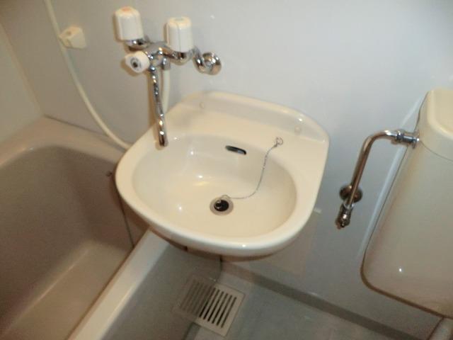 キャロットK 2F号室の洗面所