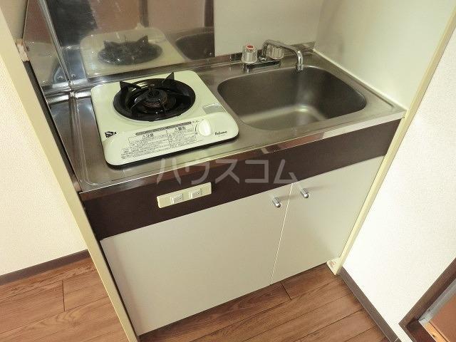 コーポアップル 110号室のキッチン