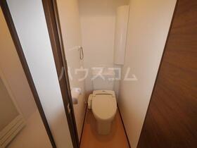 APEX上板橋 105号室のトイレ
