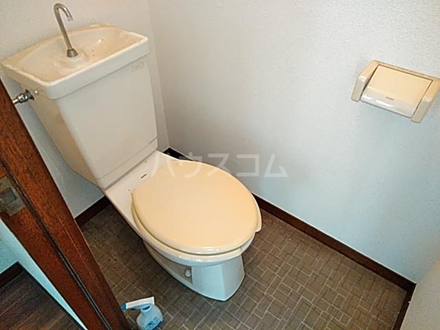 ハイツイレブン 203号室のトイレ