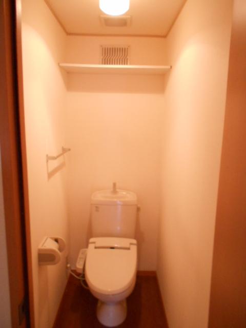 グリーンアヴェニューF 202号室のトイレ