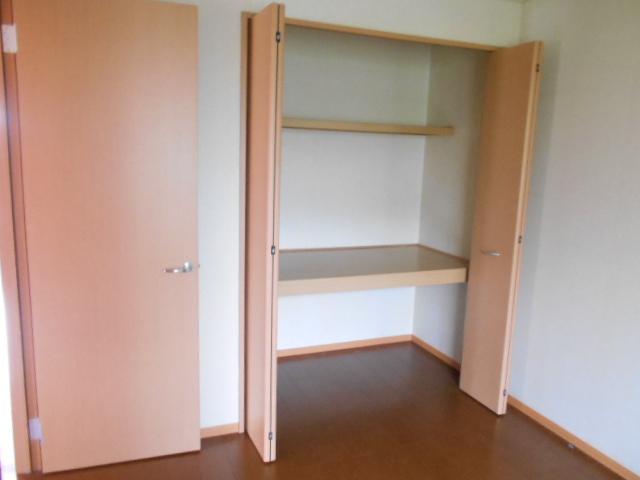 グリーンアヴェニューF 202号室の収納