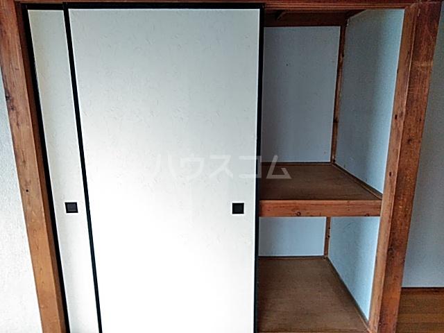 茅野荘 201号室の設備