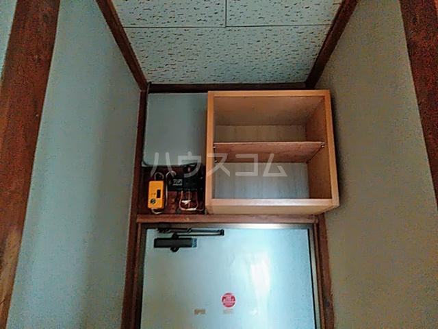 茅野荘 201号室のバルコニー