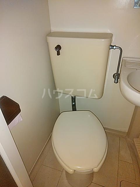 パンシオン堀ノ内 206号室のトイレ