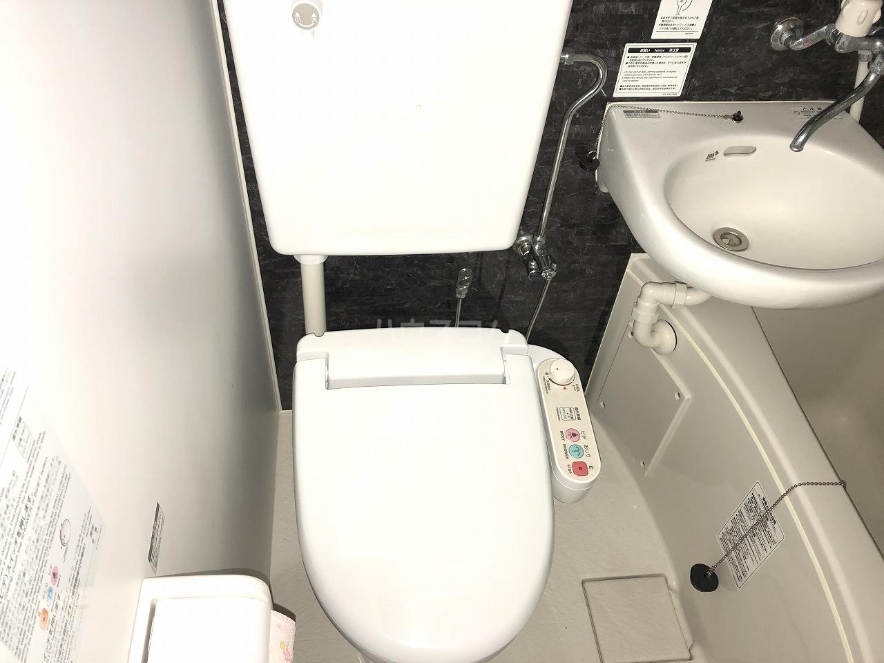 ユナイト上町ランドシュタイナー 103号室のトイレ