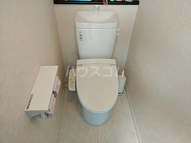 もみの気ハウス 301号室のトイレ