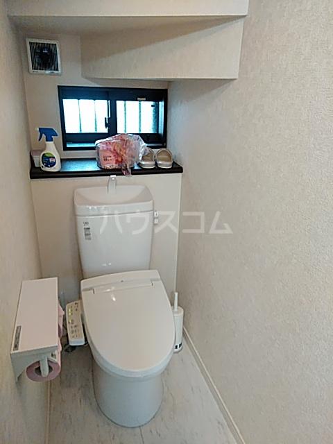 もみの気ハウス 204号室のトイレ