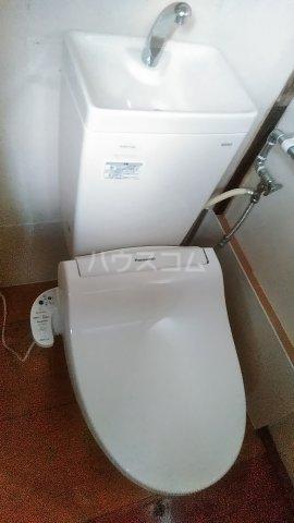 リバーサイドシェアイワセ 2号室のトイレ