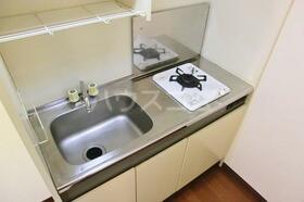 サンヒルズ 103号室のキッチン